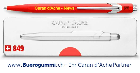 Caran d'Ache Kugelschreiber 849 bedrucken