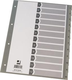 Register A4 1-12 Plastik Index