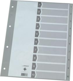 Register A4 1-10 Plastik Index