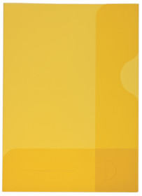Präsentationsmappe A4 gelb