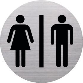 Wand-/Tür Pikto WC Damen/Herre