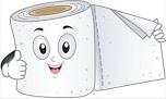 Toilettenpapier - WC-Papier