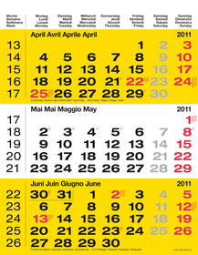 Agenda - Kalender 2011